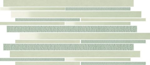 Forever Light Grey Mix Random Strip Mosaic
