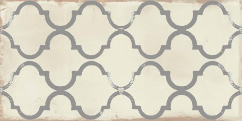 Infinity Arabesque White
