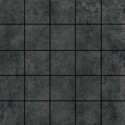 Ithaca Dark Grey Medium 2x2 Mosaic Tile