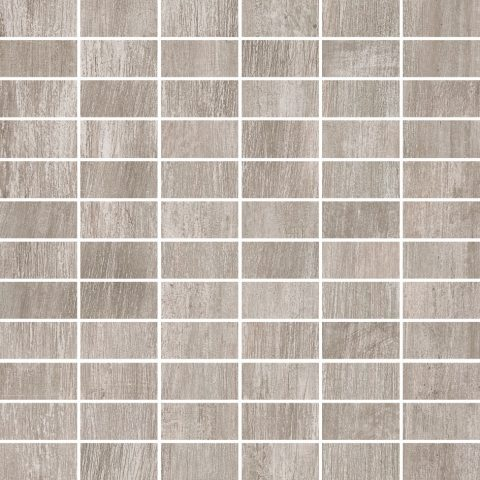 Metalized Grey 12x12 Building Block Mosaic