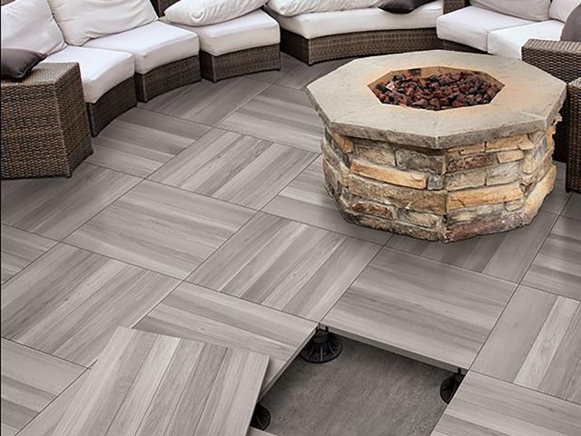 Stroll Wood-Look Porcelain Paver Collection