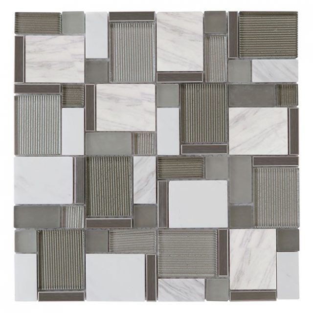 Tempo Elegant Matrix Glass Wall Tile