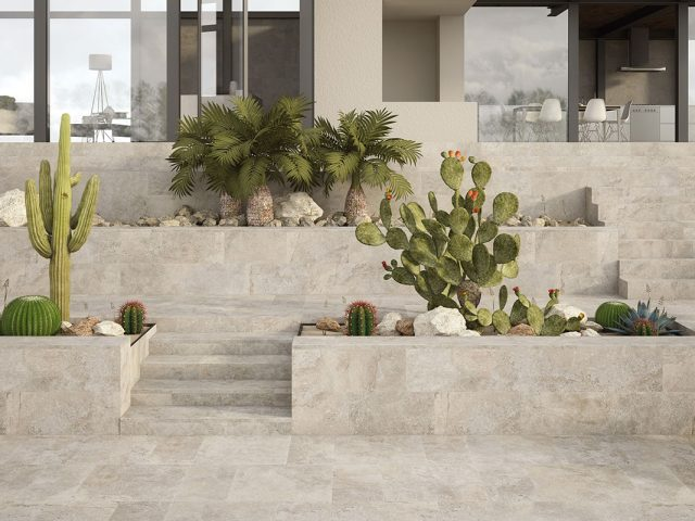 Mega Porcelain Paver Collection - Grey