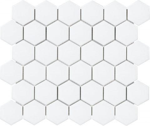 Ageless 2 Inch White Hexagon