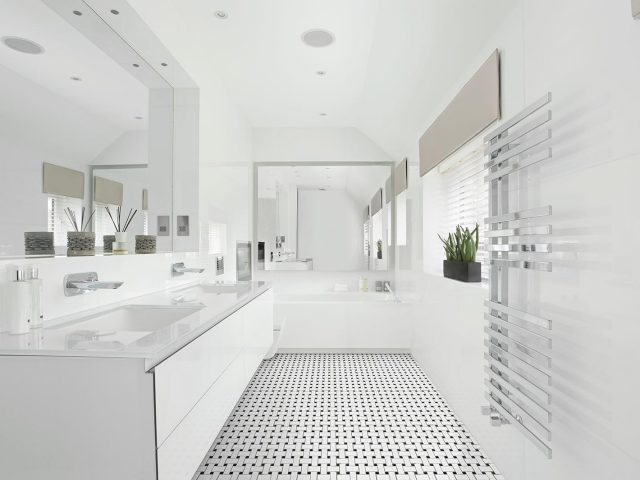 Ageless Ceramic Tile Collection - Basketweave Installation