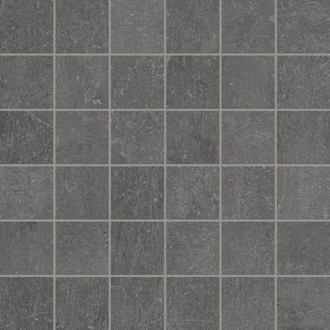 Assent Dark Grey 2x2 Mosaic