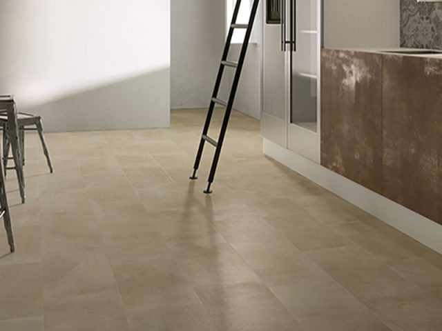 Attitude Tile Installation in Taupe
