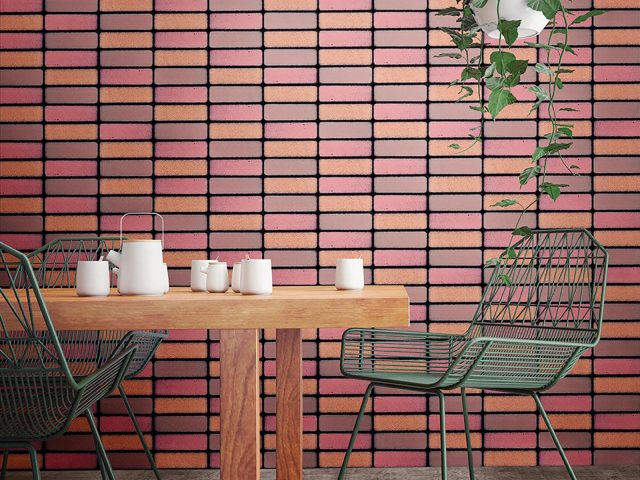 Bouquet Pink Wall Tile