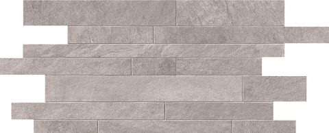 Cascade Cream Random Strip Mosaic