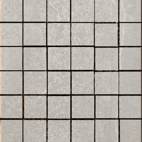 Casting 2x2 Mosaic Light Grey