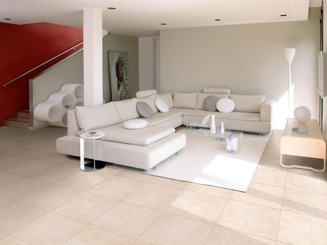 Coalesce Concrete-Look Porcelain Tile Collection