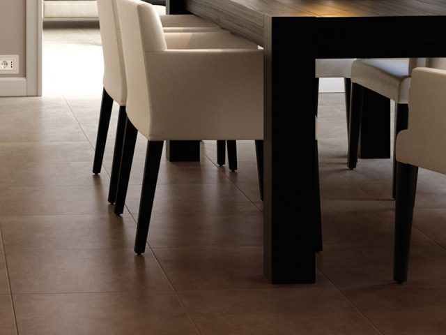 Compound Porcelain Tile Collection in 18x18 Earth