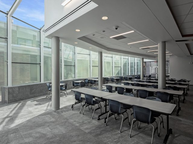 Columbia High School Cafeteria Renovation Case Study