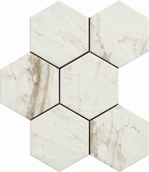 Retreat Calacatta Hexagon