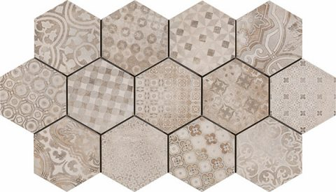 Roundabout 8x8 Hex Decor