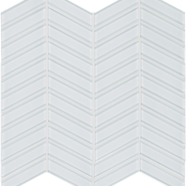 Admired White Chevron