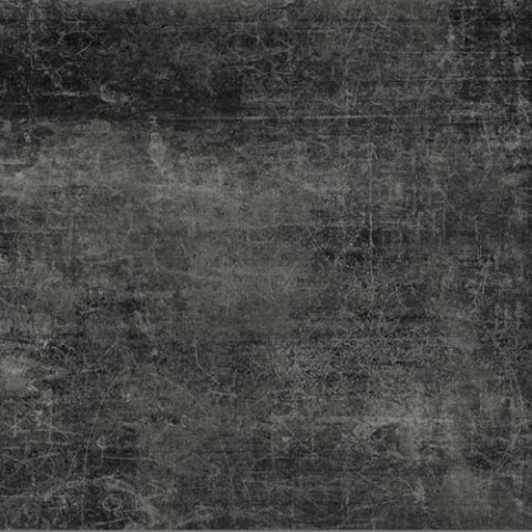Rebel Scratched Black Urban Concrete Look Porcelain Tile