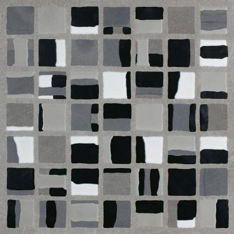 Walkway Color Block Mosaic Grey